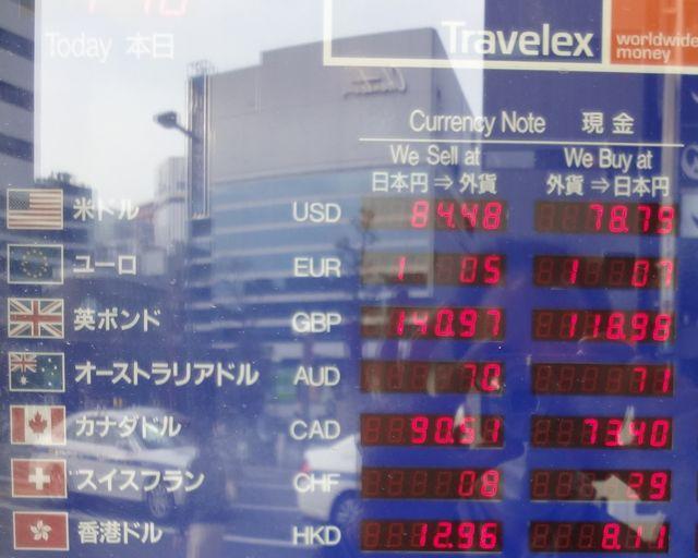 香港ドル両替レート